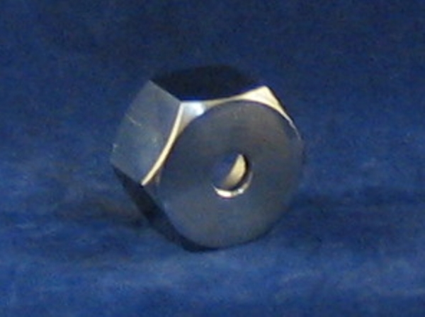 marzocchi top nut. stainless steel. drilled