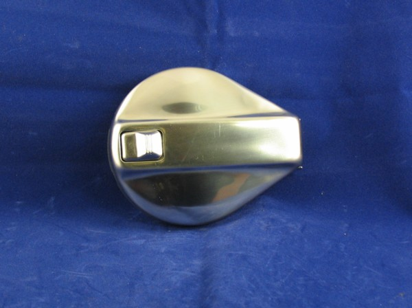 fuel cap, non locking, stainless steel