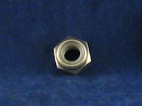 m10 x 1.25mm pitch nyloc nut ss a4