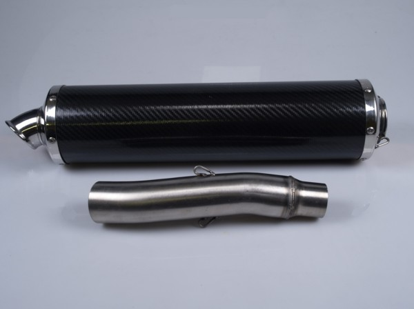 silencer set 851-900 f1 carbon low level