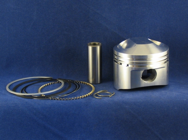 piston complete 750: 81mm 22mm pin std. compression ross 426 grams
