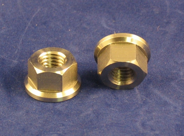 cylinder head nut, stainless steel.