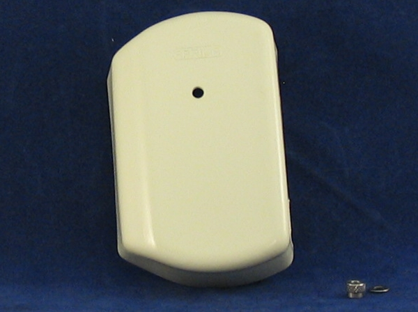 fuse box cover aprillia putty colour c/w cable cut outs & fasteners