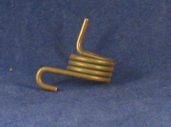 left hand footrest return spring 76-77 ss