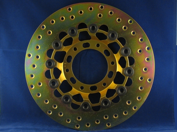 brembo fully floating disc brake 6 bolt 280mm. offset 26mm (wheel to top of disc) 5 mm thick