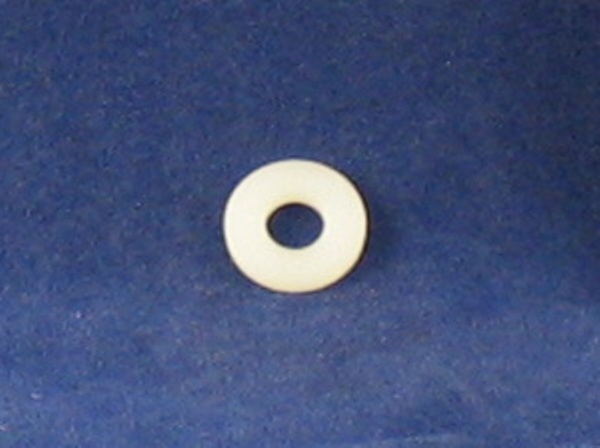 washer white nylon small fairing & seat screws