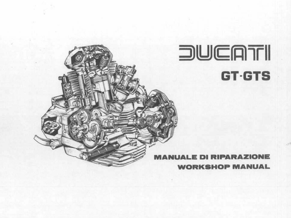 860/900gts workshop manual 198 pages pdf file download