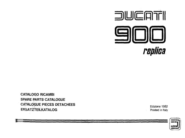 900 mike hailwood 1982 parts manual 86 pages pdf file download