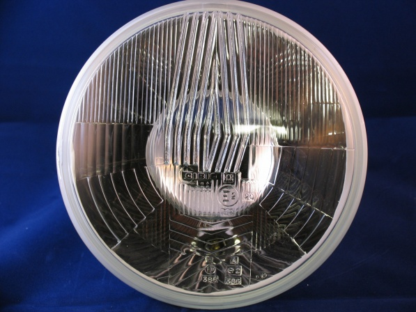 cibie h180 h4 7' headlight with sidelight, for driving on the right eg. (europe, usa, etc)