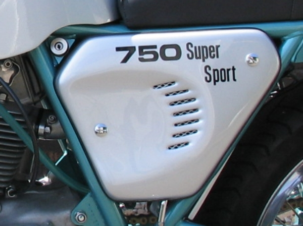 750ss side panel decal 1973-74