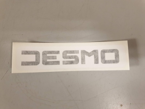 desmo fairing decal, ss/ssd.