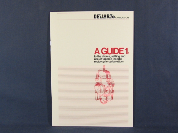 dell'orto a guide 1 1 tuning manual