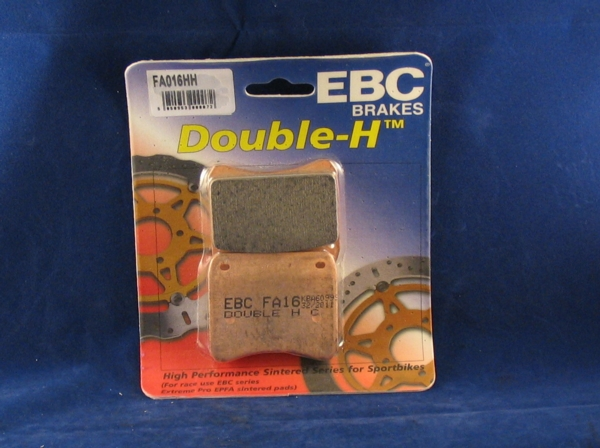 brake pads front lockheed / scarab calipers ebc sintered