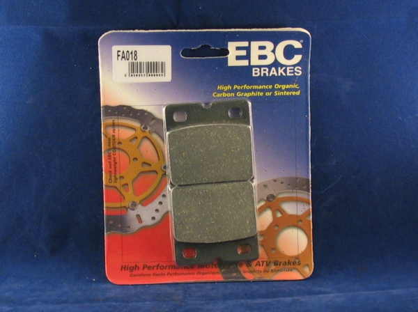 brake pads for brembo p08/ p108, ebc