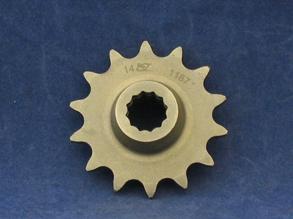 front sprocket 520 splined 14t