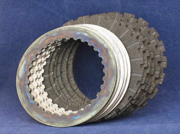 Morini 350-500 clutch kit  friction & steel set