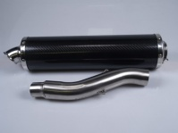 silencer set 851-900 f1 carbon high level