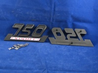 750 sport side cover badge set c/w  fixings & decals