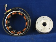 alternator 3 pole updated:..rotor depth 37mm o/d 81mm..stator depth 47mm o/d 112mm i/d