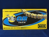 regina gold o ring chain  530 x 108 links c/w rivet link