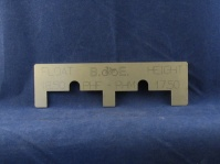 float height setting gauge  for dellorto phf and phm carburettors