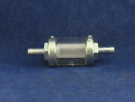In-line Fuel filter 6mm fitting