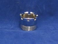 350 exhaust ferrule ring nut chrome